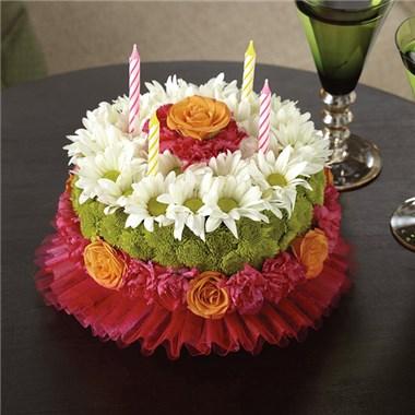Brilliant Happiest Birthday Flower Cake Savannah Ga Funny Birthday Cards Online Alyptdamsfinfo
